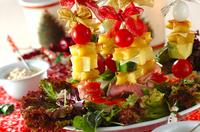 クリスマスにぴったり、スモークサーモンと生ハムの前菜レシピ