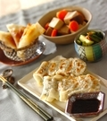「小松菜たっぷり餃子」の献立