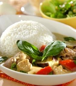 タイ風グリーンカレー