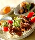 「豚しゃぶのサラダ素麺」の献立