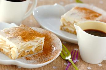 ジンジャーアップルチーズケーキ