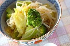 温野菜のゴマドレッシング和え