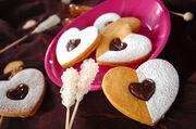 ハートのチョコサンドクッキー レシピ(作り方)
