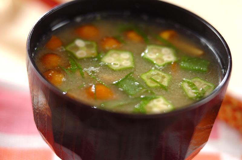 オクラの味噌汁はココが素敵。ヘビロテしたくなるとろりんレシピ