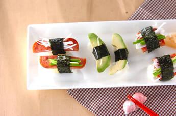 ポークランチョンミート寿司