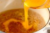 海鮮鍋~トムヤム風鍋~卵春雨の作り方5