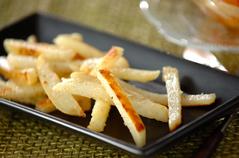 ジャガイモのチーズ炒め