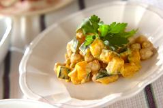ヒヨコ豆とナッツのサラダ