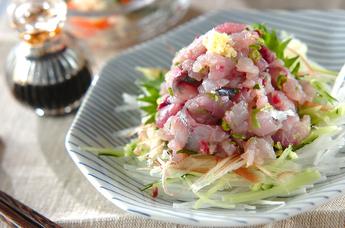 アジ料理レシピ | 魚料理レシピデータベース