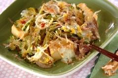 ゴーヤと高野豆腐のチャンプルー