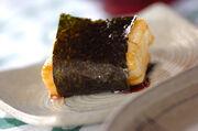 お餅の甘じょうゆ焼き レシピ(作り方)