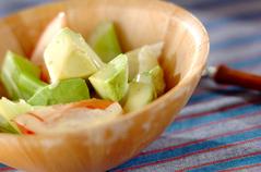 手作りマヨネーズのサラダ
