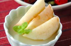 桃のアンニン豆腐