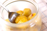 栗の甘露煮の作り方3