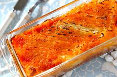 ジャガイモのピューレ・ガーリックポテトのオーブン焼き