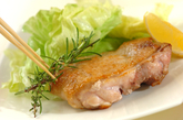 チキンのハーブソテーの作り方2