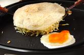広島焼き風お好み焼きの作り方7