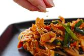 簡単豚キムチ炒めの作り方3