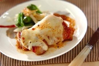チキンのチーズ照り焼き