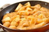 お揚げの卵とじ丼の作り方1