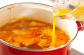 春雨キムチスープの作り方2