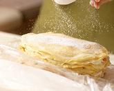 小豆クリームのミルクレープの作り方6