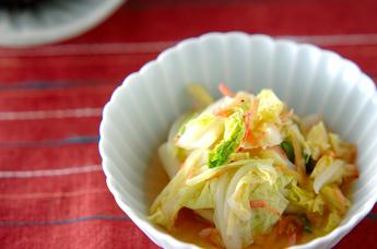 レンジ白菜