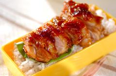 鶏もも肉のママレード煮