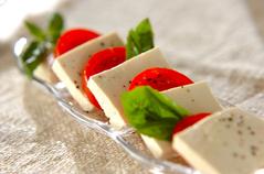 豆腐カプレーゼ