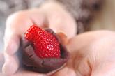 簡単イチゴ大福の下準備2