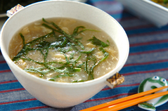 おろし長芋のスープ
