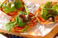 ミニサラダピザ
