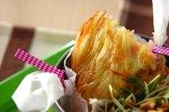 ジャガイモのチーズガレット