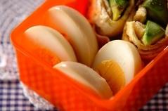 麺つゆ味玉