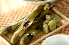 素焼きソラ豆
