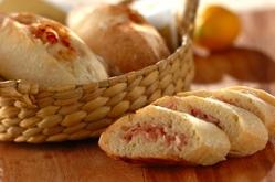 塩レモンとベーコンのパン