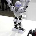 2015国際ロボット展 - やはり低価格…中国の踊るヒト型ロボット