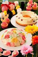 横浜ベイシェラトン「イースター」をテーマにした夜のスイーツブッフェ、ウサギのカップケーキなど