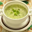 森崎友紀のマタニティ美レシピ♪#02  「鉄分がたっぷり摂れる!ほうれん草と小松菜のポタージュ」