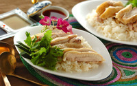 炊飯器ひとつでOK! 海南鶏飯~シンガポールチキンライス~