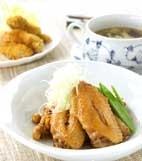 鶏肉と大豆のこっくり煮の献立