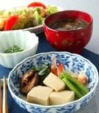高野豆腐の煮物の献立