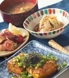 豆腐ステーキ・カレー味の献立