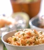 豆タコ玄米ご飯の献立