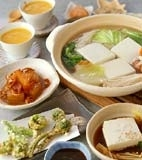 湯豆腐の献立
