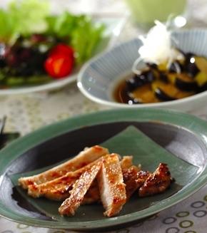 豚肉の西京焼きの献立