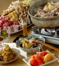 「豚ゴボウ鍋」の献立