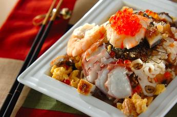 豪華ちらし寿司