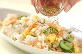 塩鮭のさっぱり混ぜ寿司の作り方2