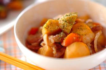 豚バラ肉と里芋の煮物